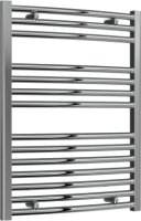 Reina Diva AG60800CC Chrome Curved Towel Rail 600 x 800mm