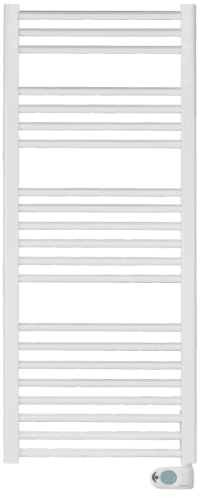 Elnur TBB-12K 600W 1280mm White Electric Towel Rail