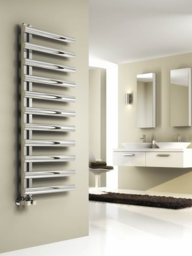 Reina Cavo RNS-CV512B Brushed Stainless Steel Towel Rail 500 x 1230mm