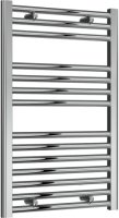 Reina Diva AG50800CF Chrome Flat Towel Rail 500 x 800mm