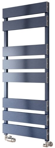 Reina Fermo A-FRM1555B Blue Satin Towel Rail 480 x 1550mm