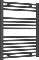 Reina Diva AG60800AF Anthracite Flat Towel Rail 600 x 800mm