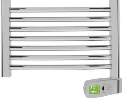 Rointe Kyros KTI050SEC2 300W Chrome Electric Towel Rail 1300mm