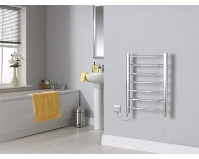 Creda CLR7C Flat Ladder Chrome Towel Rail 692mm