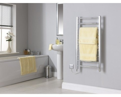 Creda CLR10C Flat Ladder Chrome Towel Rail 992mm