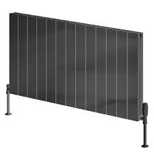 Reina Casina A-CSN060066AD Double Anthracite Textured Horizontal Radiator 660 x 600mm