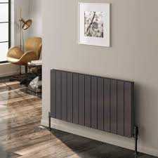 Reina Casina A-CSN060066BD Double Brushed Satin Horizontal Radiator 660 x 600mm
