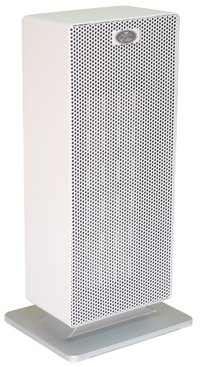 Prem-I-Air EH1706 Elite 2kW Floor Standing PTC Twin Fan Heater with 2 Heat Settings