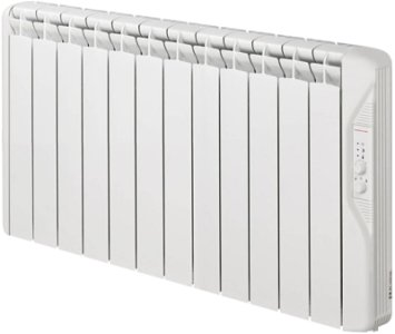 Elnur Connected ECRF12P 1500W Thermal Inertia Electric Radiator 1055mm 12 Elements