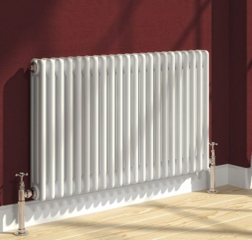 Reina 4 Column Colona Horizontal Radiator 605 x 500mm