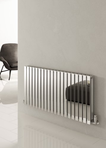 Reina Flox RNS-FTX060100DP Horizontal Double Polished Stainless Steel Radiator 1003mm x 600mm