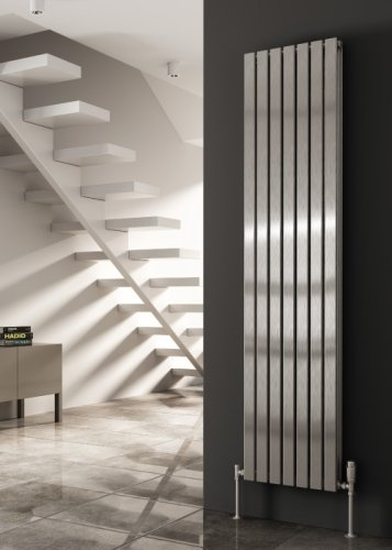 Reina Flox RNS-FTX180035DP Vertical Double Polished Stainless Steel Radiator 354mm x 1800mm