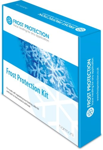 25m Pre-made (12W L/m) Frost Protection Trace Heating Kit with Thermostat
