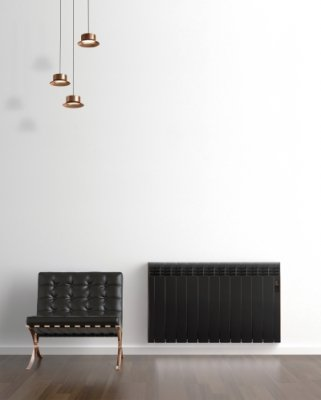 Rointe D Series DIA0550RCM Maldives Black Copper 550W Electric Radiator 5 Elements