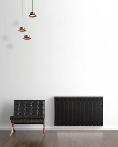 Rointe D Series DIA0990RCM Maldives Black Copper 990W Electric Radiator 9 Elements