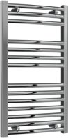 Reina Diva AG45800CC Chrome Curved Towel Rail 450mm x 800mm