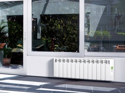 Rointe Kyros KRI1500RADC2 1500W Conservatory Electric Radiator 1330mm 15 Elements