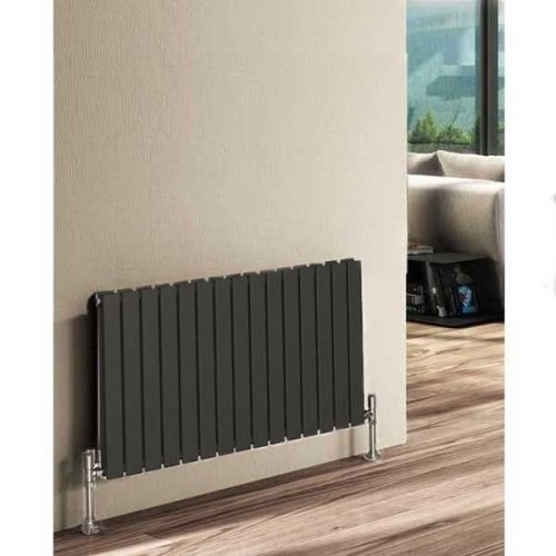 Reina Flat RND-FL17AD Double Anthracite Horizontal 1254 x 600mm