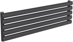 Reina Nevah RND-NVH210SA Single Anthracite Radiator 1000 x 295mm