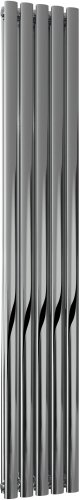 Reina Nerox RNS-NRX1805PD Double Vertical Polished Stainless Steel - 295 x 1800mm