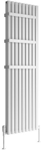 Reina Neval A-NVL18040SP Single Polished Textured Vertical Radiator 404 x 1800mm