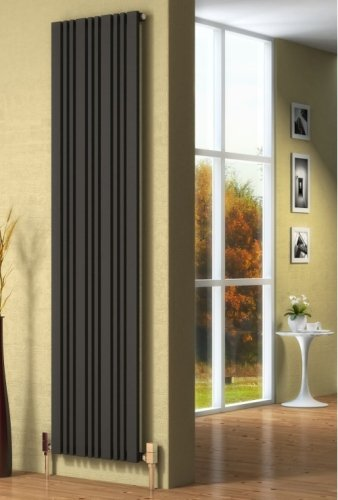 Reina Bonera RND-BNR4518A Anthracite Vertical Radiator 456 x 1800mm