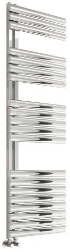 Reina Scalo RNS-SC508B Brushed Stainless Steel Towel Radiator 500 x 826mm