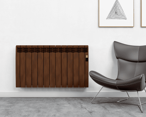 Rointe DesignLine DIA0990ROL Detroit Smooth Oxide 990W Electric Radiator 9 Elements