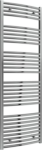 Reina Diva AG60180CC Chrome Curved Towel Rail 600 x 1800mm