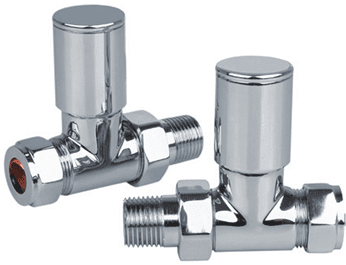 Reina Portland Straight Chrome Valve