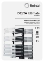 Rointe Delta Towel Rail Installation Manual