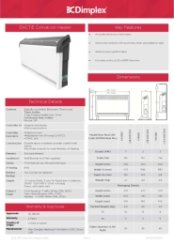 Dimplex DXCTiE Technical Specifications