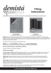Demista Heated Mirror Pads Installation Guide
