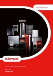 Dimplex Heat Book Brochure