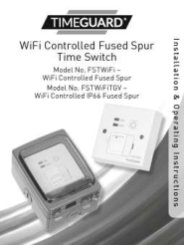 WiFi Controlled Fused Spur Time Switch Installation and Operating Instructions