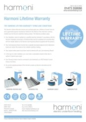 Harmoni Lifetime Warranty