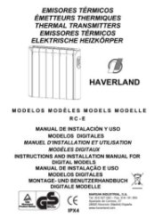 Haverland RCE Radiator Instruction Guide