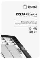 Rointe Delta Radiator Installation Manual