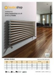 Reina Artena Double Brushed Radiator