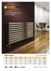 Reina Artena Double Polished Radiator