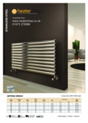Reina Artena Single Polished Radiator