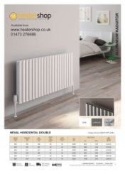 Reina Neval Double Horizontal Radiator
