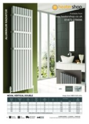 Reina Neval Double Vertical Radiator