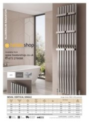 Reina Neval Single Vertical Radiator