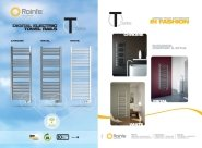 Rointe T Series Towel Rail Technical Sheet