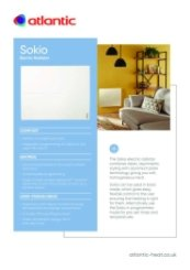 Sokio Spec Sheet