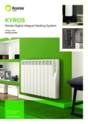 Kyros Water Heater Technical Brochure