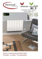 Electrorad Vanguard Electric Radiator Brochure