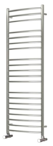 Reina Eos RNS-ES5043 Curved Stainless Steel Towel Rail 500 x 430mm