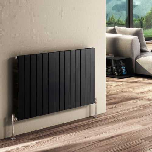 Reina Flat RND-FL06A Single Anthracite Horizontal 440 x 600mm